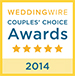 WeddingWire - 2014 Couples Choice Award